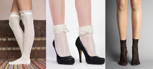 2015-Rushed-Promotion-Boot-Toppers-Europe-And-America-Style-Lace-Knee-Socks-Fashion-Women-Hollowed-out